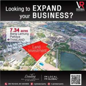 Looking to Expand your Business, Land Investment, Bang Lamung, Pattaya Thailand